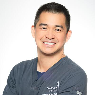 Gregory Wu, Dentist, Westford MA